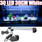 30 LED Aquarium Fish Tank Submersible Light Lamp Bar 28CM 12V DC
