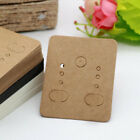 Earrings Display Cards Ear Studs Jewelry Display Cards Hanging Tags Kraft Paper