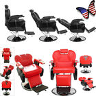 Hydraulic Barber Chair Styling Salon Beauty Spa Station Hair Equipment US