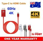 USB Type C to HDMI Adapter Cable 4K 60Hz With Power For Samsung Galaxy Note 10+
