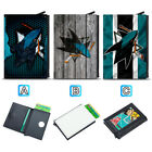 San Jose Sharks Leather Credit ID Card Case Holder RFID Protector Wallet $11.99 USD on eBay