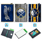 Buffalo Sabres Leather Credit ID Card Case Holder RFID Protector Wallet $11.99 USD on eBay