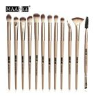 12 Pcs Set Beauty Makeup Eye Shadow Brush Highlighter Brush Makeup Brush Set