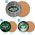 New York Jets Wood Coaster Cup Mat Coffee Drink Mug Pad $4.69 USD on eBay