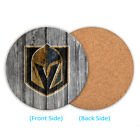 Vegas Golden Knights Wood Coaster Cup Mat Coffee Drink Mug Pad