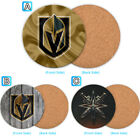 Vegas Golden Knights Wood Coaster Cup Mat Coffee Drink Mug Pad $3.49 USD on eBay