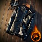 Men's winter new best selling casual men's motorcycle leather jacket
