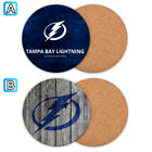Tampa Bay Lightning Wood Coaster Cup Mat Coffee Drink Mug Pad $4.69 USD on eBay
