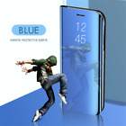 For Samsung Galaxy J4 J6 Plus J5 J7 Mirror Leather Flip Stand Case Cover