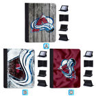 Colorado Avalanche Flip Case For iPad Mini 1 2 3 4 Air 5 6 Pro 9.7 10.5 12.9 $18.99 USD on eBay