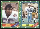 BUY 1, GET 1 FREE - 1986 TOPPS FOOTBALL - YOU PICK NUMBERS #201 - #396 - NMMT $1.0 USD on eBay