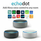 AMAZON ECHODOT 3 GEN. ALTOPARLANTE INTELLIGENTE CON ALEXA NERO GRIGIO BIANCO NEW
