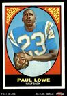1967 Topps #121 Paul Lowe Chargers Oregon St 6 - EX/MT $11.0 USD on eBay
