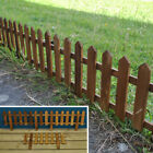 Picket Fence Fencing Wooden Garden Lawn Edging Panels (50cm x 20cm)