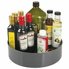 mDesign Plastic Lazy Susan Food Storage Turntable, 11.5