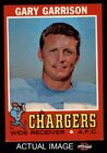 1971 Topps #172 Gary Garrison Chargers EX/MT $3.0 USD on eBay
