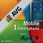 AVG Mobile AntiVirus Security PRO 1 Smartphone 1, 2 Years