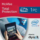McAfee Total Security 2021 1, 3, 5, 10 and unlimited PC 1, 2, 3 Year 2021