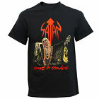 Authentic SATAN Band Court In The Act Logo Metal T-Shirt S M L XL 2XL NEW image