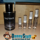 CHRISTIAN Dior Sauvage Eau de Toilette EDT 2-3-5-10ML SAMPLE Travel Spray Bottle