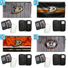 Anaheim Ducks Leather Travel Passport Holder Organizer Wallet Card $15.99 USD on eBay