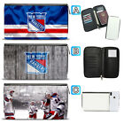 New York Rangers Leather Travel Passport Holder Organizer Wallet $15.99 USD on eBay