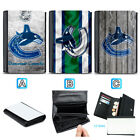 Vancouver Canucks Leather Women Wallet Coin Purse Holder Handbag $14.99 USD on eBay