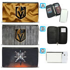 Vegas Golden Knights Leather Travel Passport Holder Organizer Wallet $15.99 USD on eBay