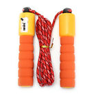 1pc adjustable gym sports fitness exercise fast speed counting jump skip rope ue