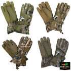 NEW BANDED H.E.A.T INSULATED CAMO HUNTING GLOVES - B1070008 - ELECTRIC -