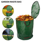 272L Large Heavy Duty Garden Waste Bags Leaves Refuse Sacks With Handles UK