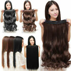 natural lady 34 full head clip in hair extensions wavy hair straight curly q5n8