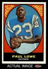 1967 Topps #121 Paul Lowe Chargers Oregon St 5 - EX $4.0 USD on eBay
