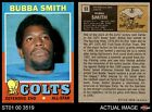 1971 Topps #53 Bubba Smith Colts EX/MT