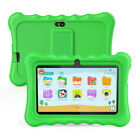 "Portable 7"" Android8.1 8GB Quad-Core Kids Tablet PC WiFi BT 2*Camera Shock-Proof"