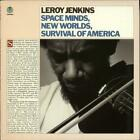 Leroy Jenkins Space Minds New Worlds Survival ... vinyl LP  record USA