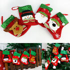 1/3/5 Sets Christmas Stocking Santa Socks Claus Candy Gift Bag Xmas Tree Decor