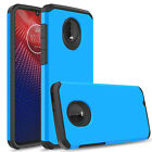 For Motorola Moto Z4/Z4 Play Phone Case Shockproof Hybrid Armor Rubber TPU Cover