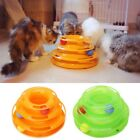 Pet Cat Play Ball Disk Interactive Toys Amusement Plate Trilaminar Funny Toy Hot