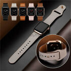 44/42mm Genuine Leather Watch Band Strap for Apple Watch Series 5 4 3 2 40/38mm image