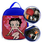 "Betty Boop Cartoon Comic Custom Printed Lunch Bag For Kids Size 7""L X 9""H X 3""W $25.0 USD on eBay"