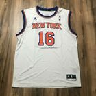Adidas NBA Replica Jersey New York Knicks Steve Novak White Sz L 2XL NWT on eBay