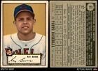 1952 Topps #55 Ray Boone Indians GOOD