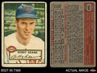1952 Topps #249 Bobby Adams Reds GOOD