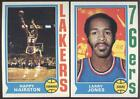 1974 - 1975 TOPPS BASKETBALL - YOU PICK NUMBERS #1 - #132 - SHARP - NMMT on eBay