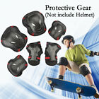 US 6pcs Protective Gear Set Adults Teens Kids Knee Elbow Pads With Wrist Guards image