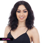 NAKED 100 BRAZILIAN NATURAL HUMAN HAIR LACE FRONT WIG - RHIA