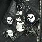 Pin Brooches Badges Backpack Cat Different Hard enamel lapel Bag Hat Goth Punk image