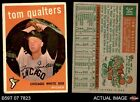 1959 Topps #341 Tom Qualters White Sox VG