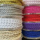 4.5mm Twisted Cord Soutache Braid Thread Rope String Craft Jewellery Piping